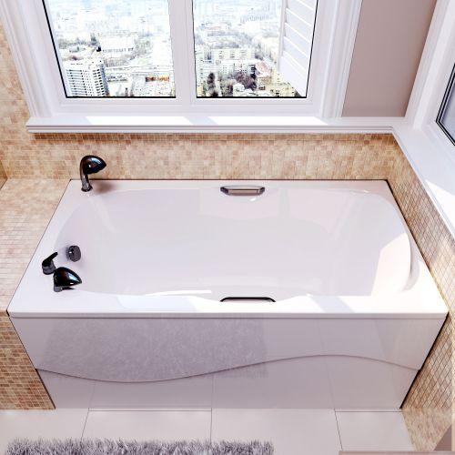 Ванна из искусственного камня Фэма Алассио 150 см дизайнерские смесители для умывальника в ванную купить в москве