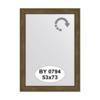 Зеркало в багетной раме (53х73 см) EVOFORM BY 0794