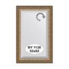 Зеркало в багетной раме (52х82 см) EVOFORM BY 1138