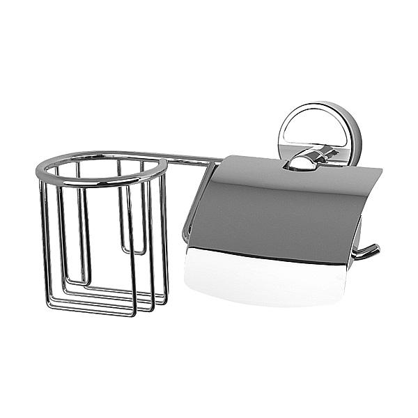 FBS Держатель освежителя и туалетной бумаги с крышкой Luxia LUX 054