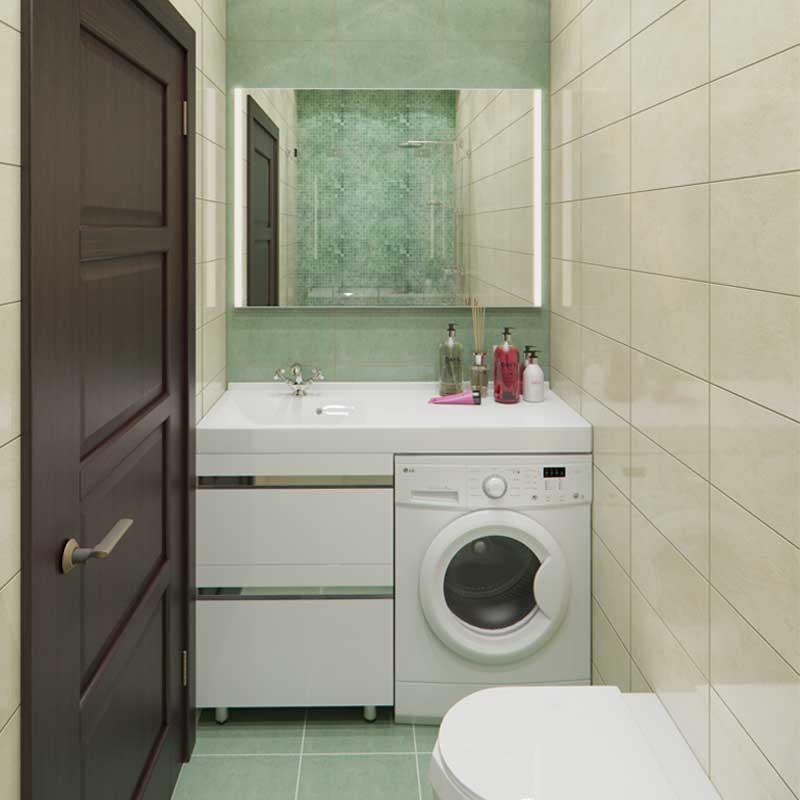 Мебель Lotos 120 для ванной комнаты с 2 ящиками