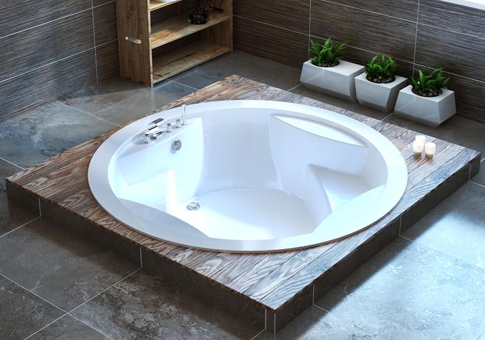 Формы ванн фото
