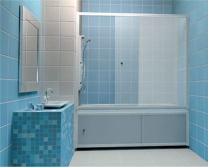 Экран на ванную